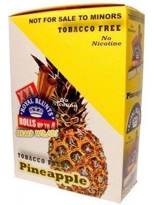 Royal Blunts XXL Tobacco Free Wraps - Pineapple