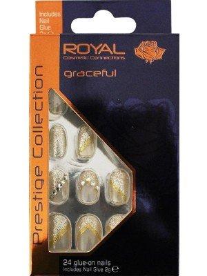 wholesale Royal Cosmetics Glue-On Nail Tips
