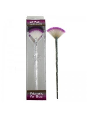 Wholesale Royal Cosmetics Prismatic Fan Brush
