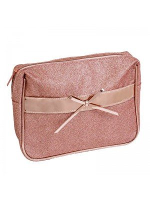Wholesale Royal Cosmetics Rose Gold Makeup Bag