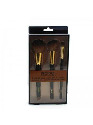 Royal Cosmetics Flawless Face Brush Set