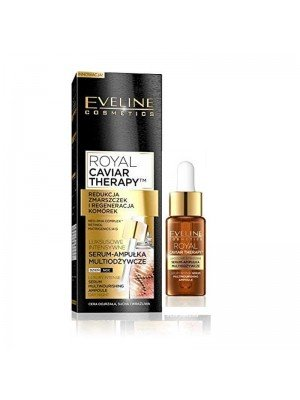 Wholesale Eveline Royal Caviar Therapy Face Serum Ampoule Day/Night 18ml