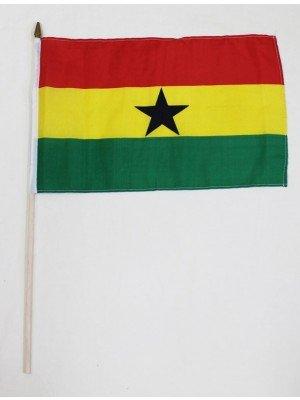 Ghana Hand Flag (46cm by 30cm)
