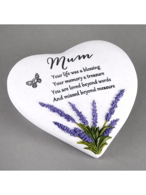 Mum Heart Stone