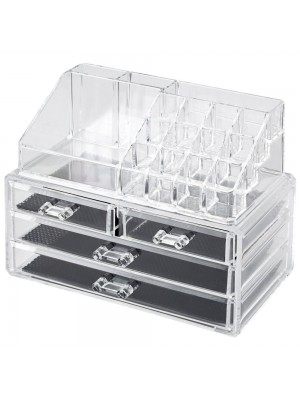Wholesale LaRoc Acrylic Cosmetic Organiser with 4 Drawers