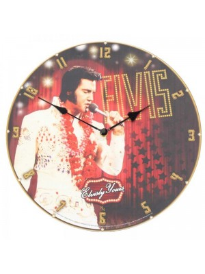 Wholesale Elvis Clock 34cm