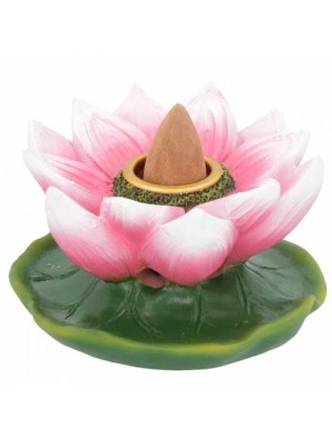 Wholesale Lotus of Purity Backflow Incense Burner 7.7cm