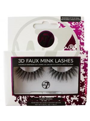 Wholesale W7 3D Faux Mink Lashes - Safe Word