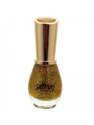 Wholesale Saffron Nail Polish - #64 Gold Glitter
