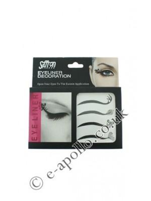 Saffron Eyeliner Decoration Strips