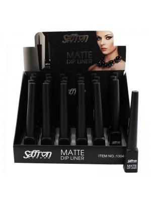 Saffron Matte Dip Liner - Black