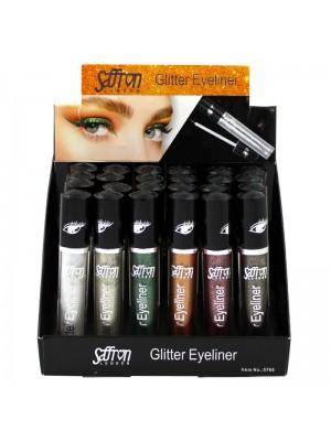 Wholesale Saffron Glitter Eyeliner - Assorted