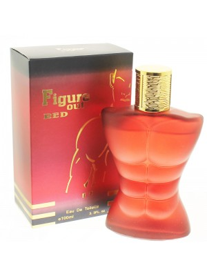 Saffron Mens Perfume - Figure Out Red