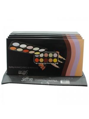 Saffron Concealer & Colour Corrector Palette
