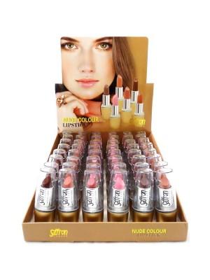 Saffron Nude Lipsticks - 48 pieces