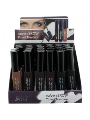 Saffron Make My Brow Tinted Mascara - Assorted Colours