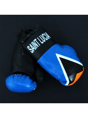 Mini Boxing Gloves - Saint Lucia