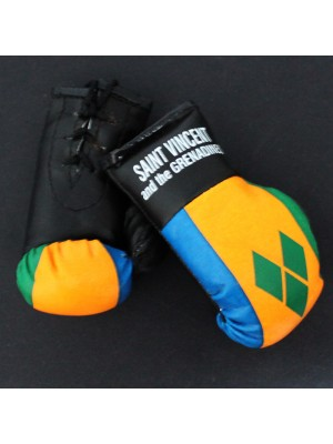 Mini Boxing Gloves - Saint Vincent And The Grenadines