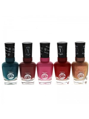 Wholesale Sally Hansen Miracle Gel Nail Polish - Assorted