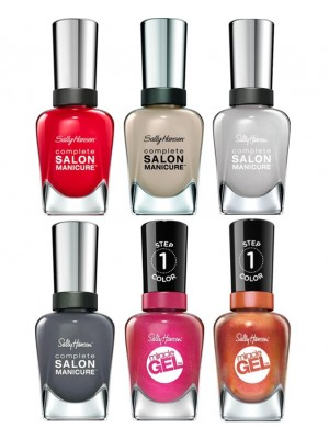 Wholesale Sally Hansen Salon Manicure & Miracle Gel Nail Polish - Assorted