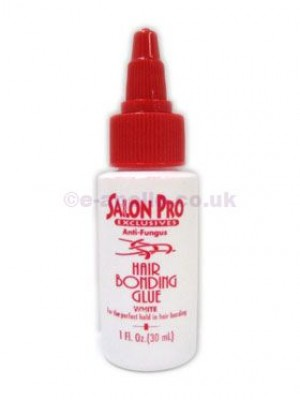 'Salon Pro Exclusive' Hair Bonding Glue White 1 oz.