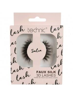 Wholesale Technic Faux Silk 3D False Eye Lashes - Salsa