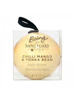 Wholesale Sanctuary Spa Chilli Mango & Tonka Bean Bath Bomb