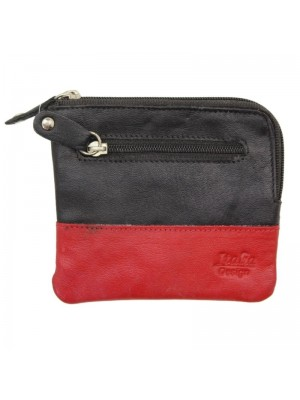 Zip Top Ladies Coin Purse - Assorted Colours