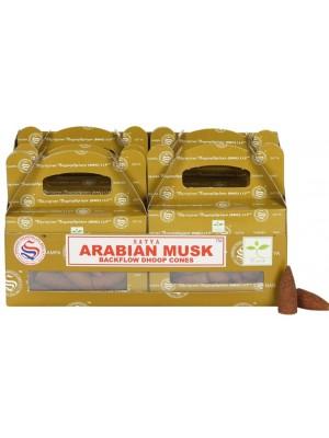 Wholesale Satya Backflow Dhoop Cones-Arabian Musk