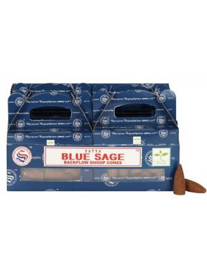 Wholesale Satya Backflow Dhoop Cones-Blue Sage