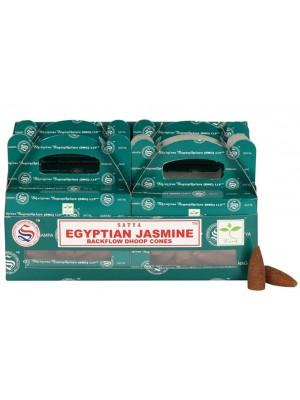 Wholesale Satya Backflow Dhoop Cones-Egyptian Jasmine