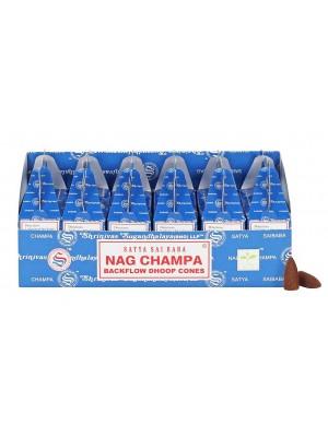 Wholesale Satya Backflow Dhoop Cones-Nag Champa