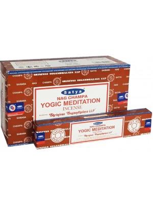Satya Incense Sticks - Nag Champa Yogic Meditation