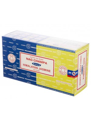 Wholesale Satya incense sticks - Nag Champa & Hiamalyan Jasmine