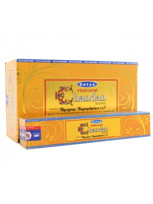 Satya Natural Incense Sticks - Chandan