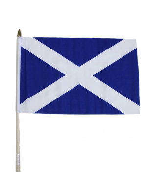 "Wholesale Scotland Hand Flag - 12"" x 18"""