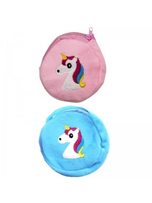 Wholesale Round Unicorn Coin Purse