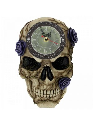 Wholesale Never Turn Back Backwards Clock 27cm