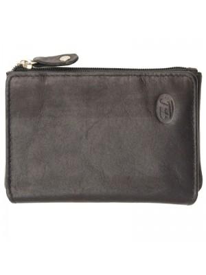 Womens Purse Genuine Leather Black