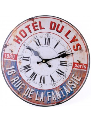 Shabby Chic Wall Clock Hotel DU LYS Design