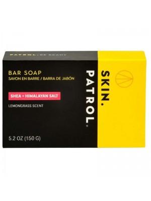 Skin Patrol Mens Bar Soap - Shea + Himalayan Salt
