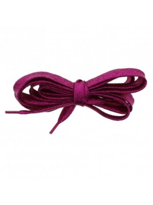 Shiny Lurex Shoelaces - Pink