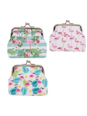 Wholesale PVC Flamingo Coin Purse