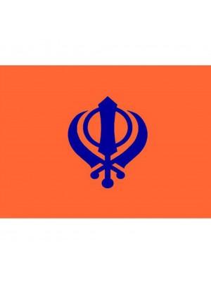 Sikh Flag 5ft x 3ft