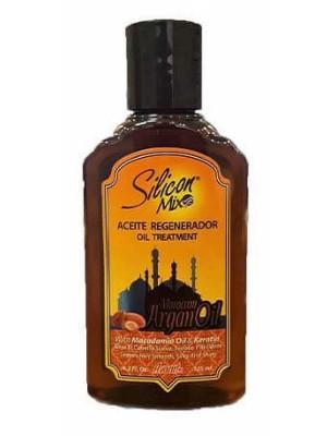 Wholesale Silicon Mix Silicon Mix Moroccan Argan Oil Aceite Regenerador Oil Treatment-125ml