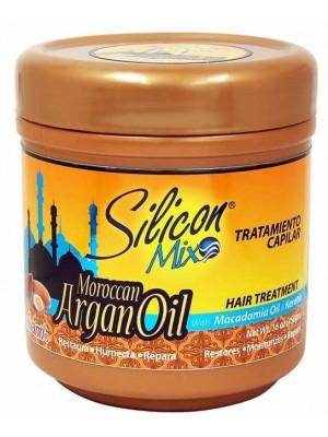 Wholesale Silicon Mix Silicon Mix Moroccan Argan Oil With Macadamia Oil & Keratin Hair Treatment-450g