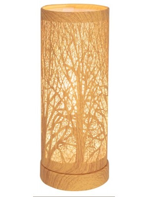 Wholesale Silver Oak Effect Tree Aroma Touch Lamp - 26cm