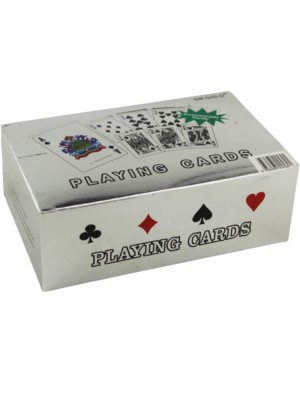 Wholesale Silver 50 Pound Playing Cards
