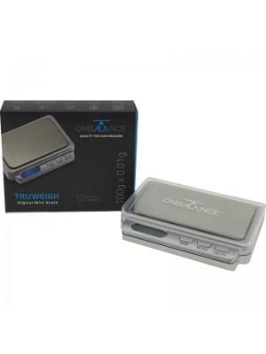 Wholesale On Balance Tuff-Weigh Digital Mini Scale - Silver TW-100 (100g x 0.01g)