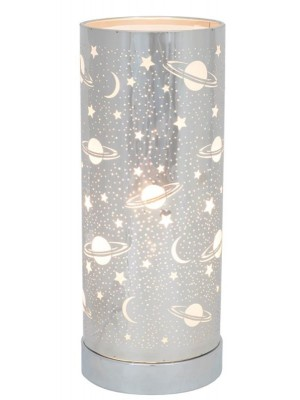 Wholesale Silver Universe Aroma Touch Lamp - 26cm